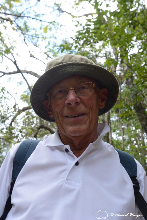 Piet Huijser on the Casca d'Anta trail, Parque Nacional da Serra da Canastra, Minas Gerais, Brazil