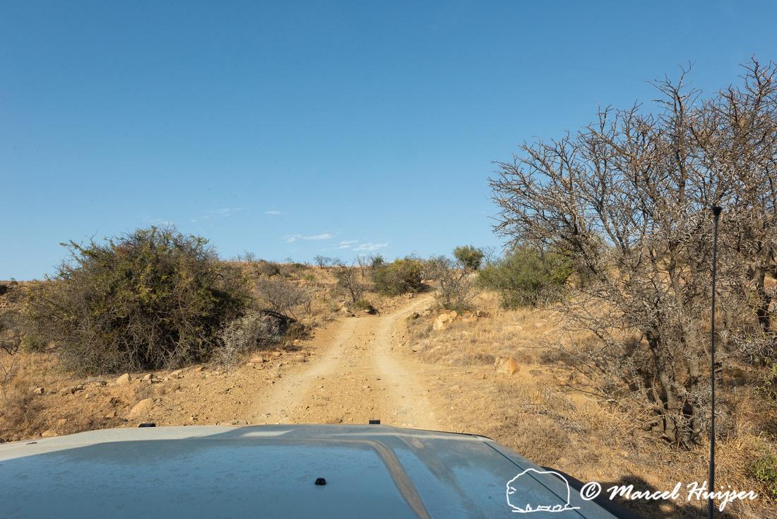 Toyota Landcruiser from Bushlore on 4x4 trail, Mountain Zebra Na