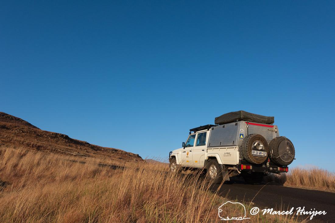 Toyota Landcruiser from Bushlore, Golden Gate Highlands National
