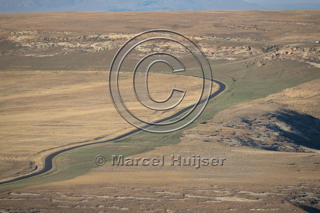 Road, Golden Gate Highlands National Park, Free State, South Afr
