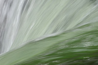 Abstract waterfall, Lower Falls, Grand Canyon of the Yellowstone, Yellowstone National Park, Wyoming, USA