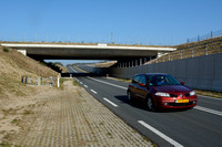 "Wildlife overpass ""Oud Reemst"" (about 35 m wide), south of Otterlo, The Netherlands"