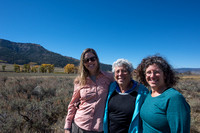 Fernanda Abra. Sue Walder, and Bethanie Walder, Wyoming, USA