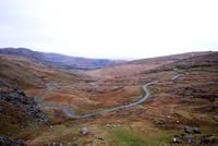 Road (R574) across Healy Pass, Beara Peninsula, Ireland