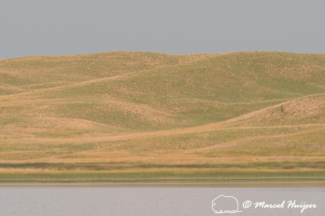 Lake and dunes, Valentine National Wildlife Refuge, Nebraska, US