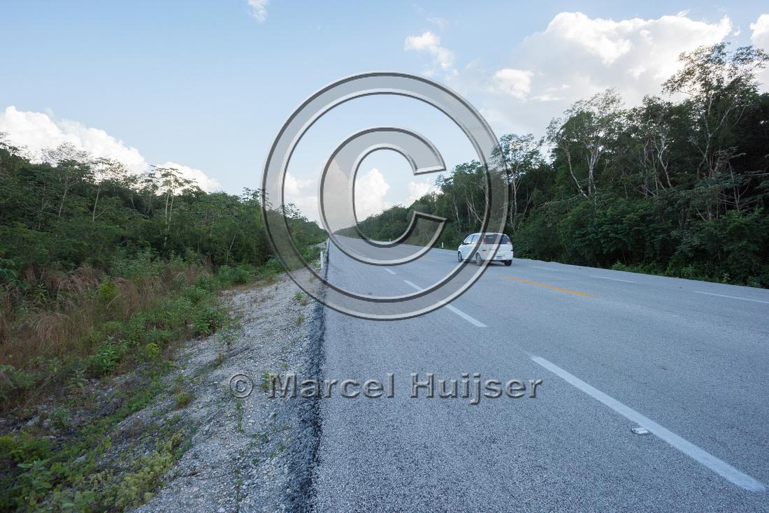 Nuevo Xcan-Playa Del Carmen highway, Quintana Roon, Mexico