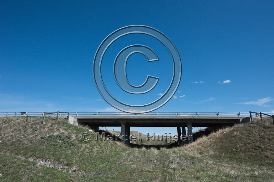 Underpass for farm vehicles (along I-25, mile 278.84), North of