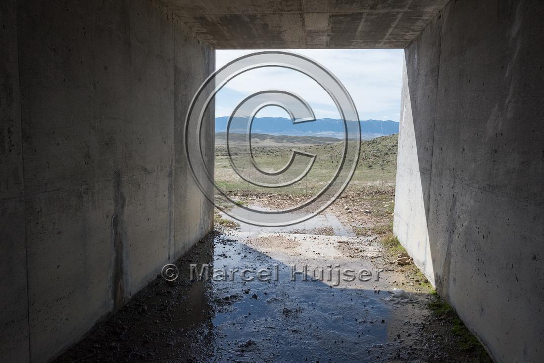 Box culvert for livestock (along I-25 mile 270.50), North of Kay
