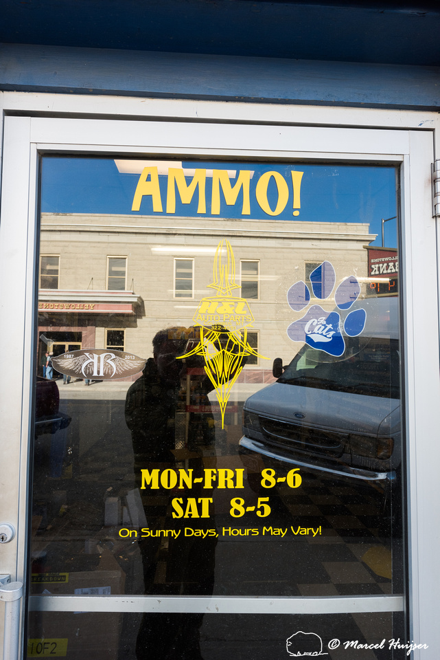Car parts store with an emphasis on ammunition and a tendency to