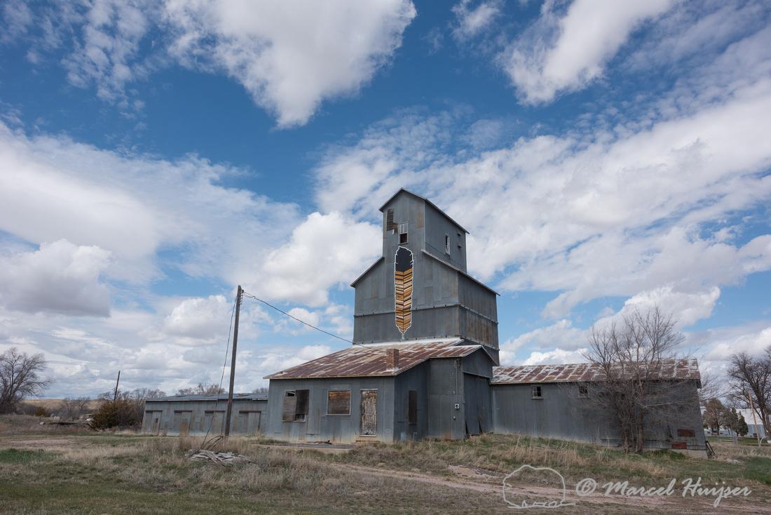Grain elevator, Nebraska, Cody, USA