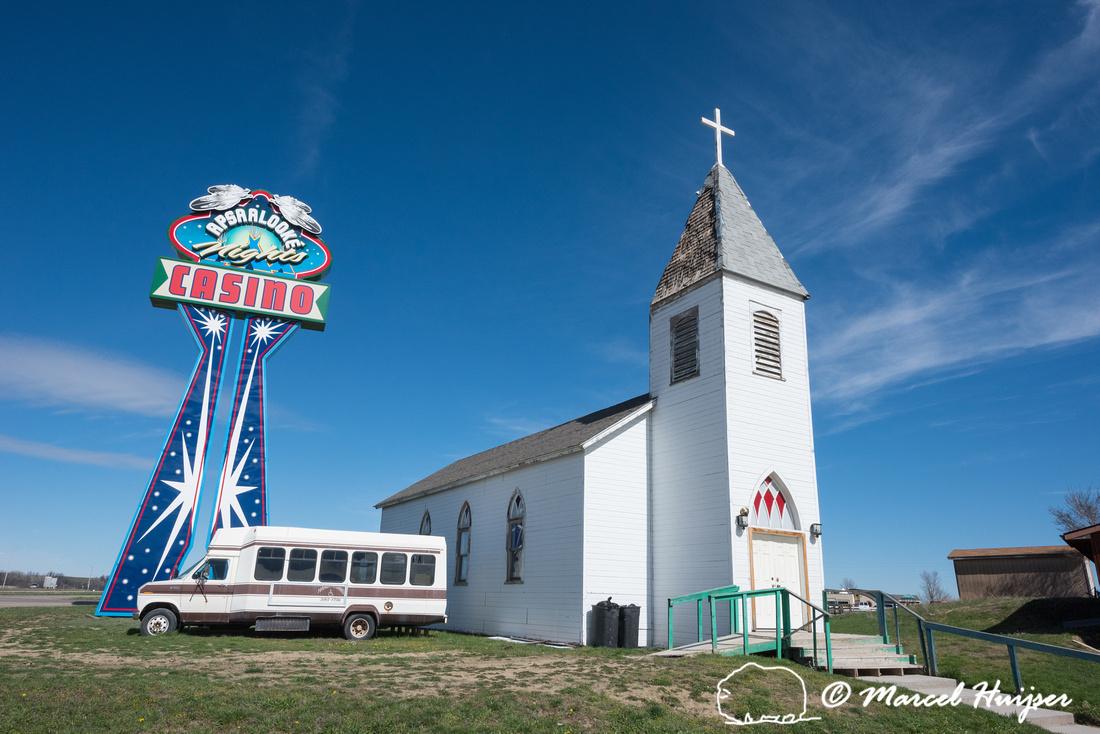 Culture killers, Crow Agency, Montana, USA