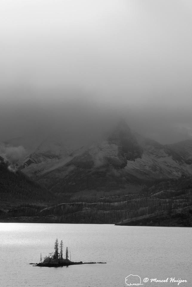 Wild Goose Island, St. Mary Lake, Glacier National Park, Montana