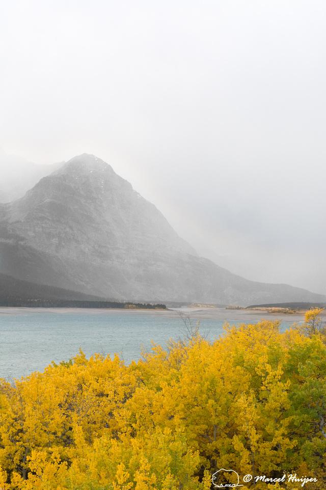 Fall storm, Glacier National Park, Montana, USA