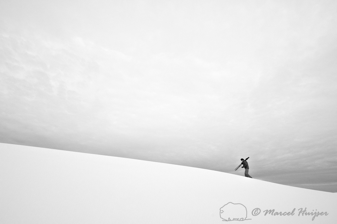 Jerome Walker, White Sands National Monument, New Mexico, USA