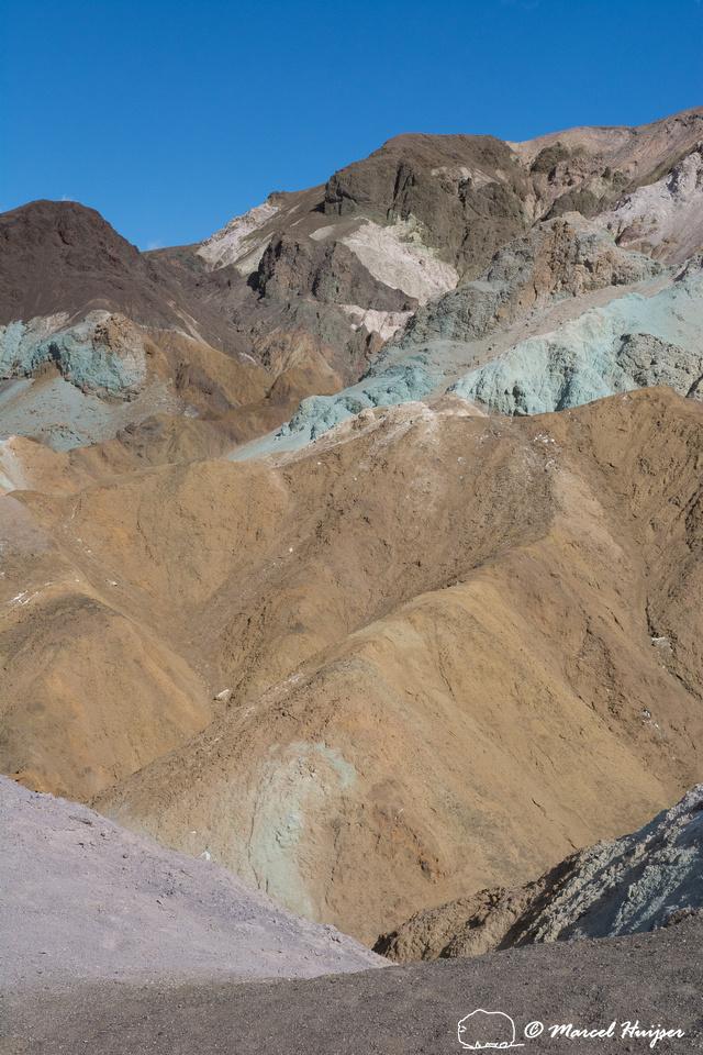 Artist's Palette, Death Valley National Park, California, USA