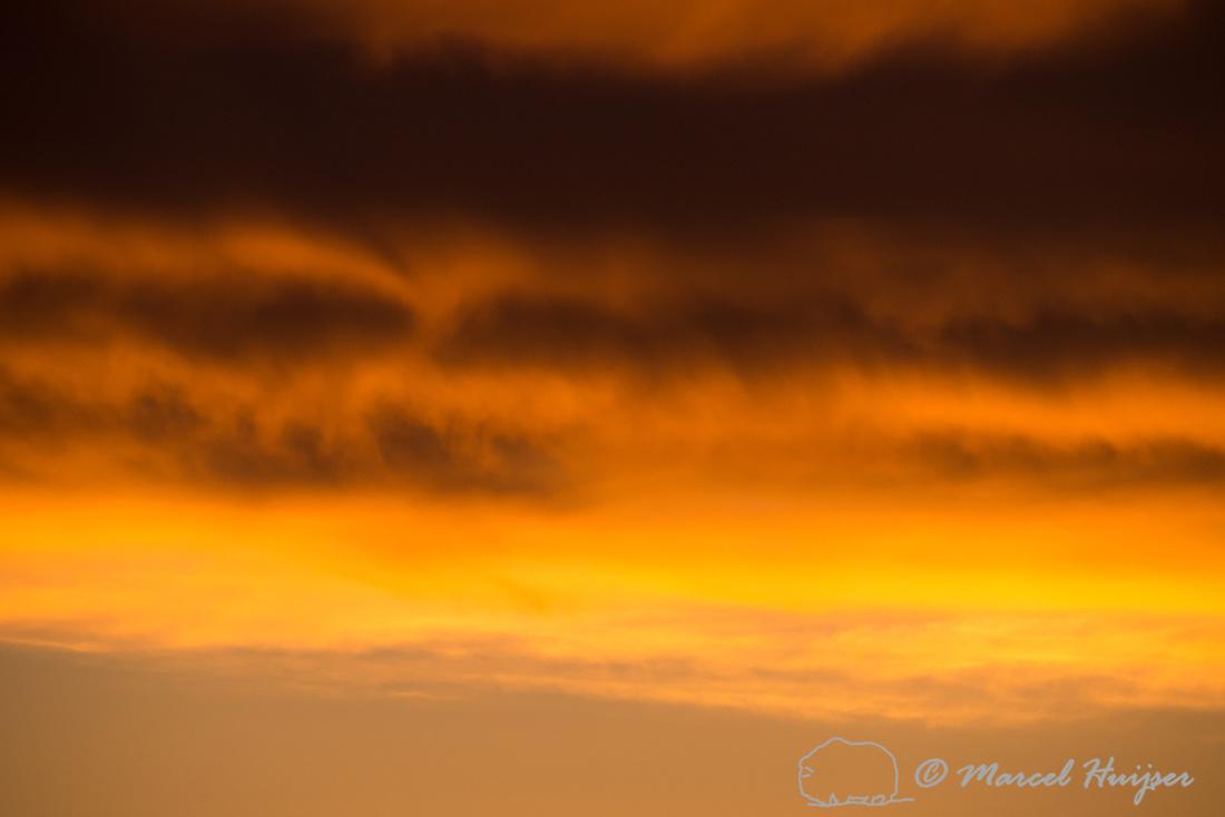 Sunrise on the great plains, Montana, USA