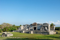 Ancient Mayan city of Tulum, Quintana Roo, Mexico