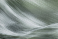 Abstract of waves in the Lochsa River during spring runoff, Idaho, USA