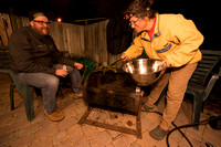 Bethanie Walder and Adam Liljeblad operate the chili roaster