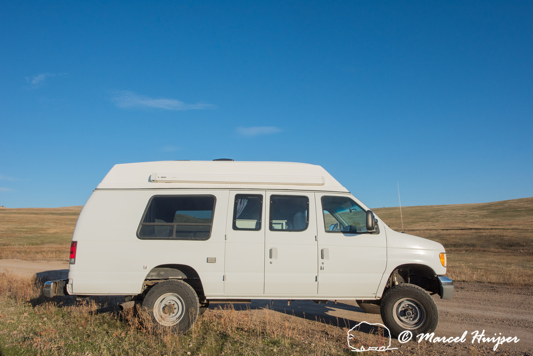 Ford e350 4x4 van, Missoula, Montana, USA