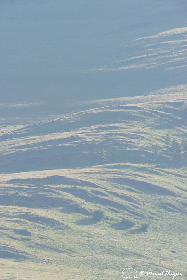 Rocky ridges, National Bison Range, Montana, USA