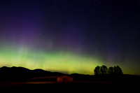 Aurora Borealis (northern lights), Montana, USA