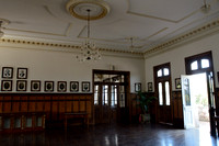 Hall in the main building (Edificio central), the University of São Paulo, Piraciccaba campus (ESALQ), Brazil