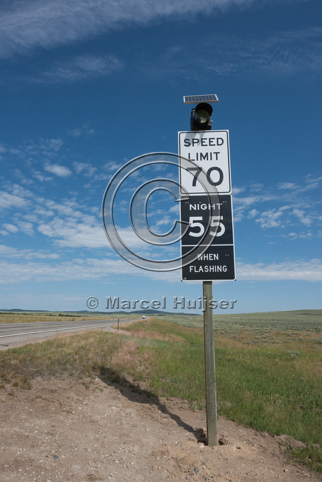 Reduced posted speed limit at night in high collision areas with
