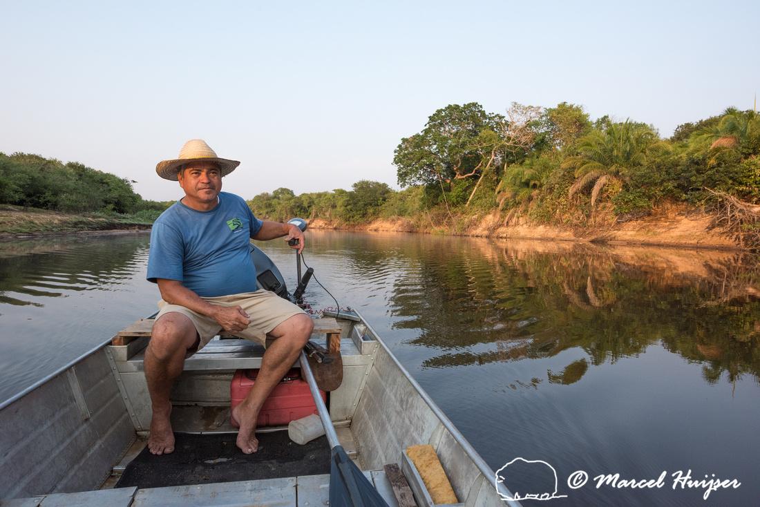 Early morning departure, Barra Mansa, Rio Negro, Mato Grosso do